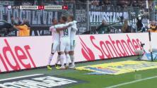 Se juntaron los del talento y el Mönchengladbach pone el 2-0 ante el Leverkusen