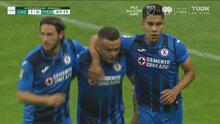 ¡No perdona! 'Cabecita' Rodríguez anota el 1-0 de Cruz Azul