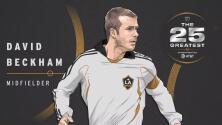 The 25 Greatest: David Beckham, un ícono deportivo que marcó un antes y un después en la MLS