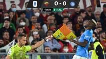 La Roma frena la racha de triunfos del  Napoli de 'Chucky' Lozano