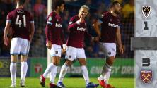 'Chicharito' sentenció el pase del West Ham en Copa de Inglaterra