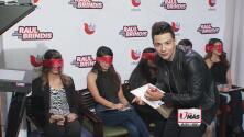 Luis Coronel sorprendió a fans durante el show de Raúl Brindis