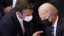 Macron habla con Biden por primera vez desde la crisis de los submarinos australianos