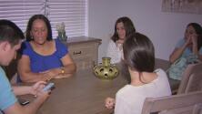 Familia venezolana en Miami vive el drama de estar lejos de sus seres queridos