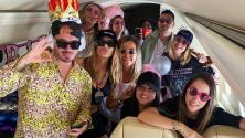 J Balvin organizó una fiesta de varios días para celebrar el cumpleaños de su novia Valentina Ferrer en Las Vegas