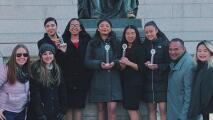 Sin importar la pandemia y otros obstáculos, estudiantes latinas en Santa Ana ganan torneo de discurso y debate