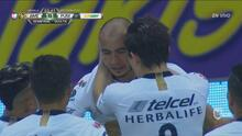 Carlos González pone el empate 1-1 para Pumas sobre América