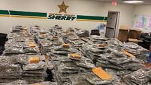 """""""Si perdiste 770 libras de marihuana, ven por ellas"""": el mensaje sarcástico de la Policía de Florida"""