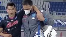 En Napoli tienen esperanza tras lesión de 'Chucky' Lozano