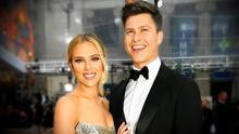 Scarlett Johansson y Colin Jost le dan la bienvenida a su primer hijo