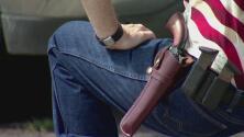 El próximo miércoles entra en vigor en Texas la ley que permite el porte de armas sin licencia, ¿de qué trata?