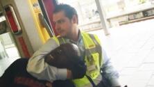 Video: Guardias de seguridad sacan a la fuerza a un hombre negro de un tren