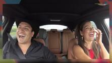 A Julión Álvarez le dio risa nerviosa con Ana Patricia