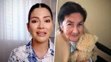 """Al borde de las lágrimas, Ana Patricia comparte cómo fue el último suspiro de su abuelita """"mamá Nina"""""""