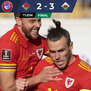 Resumen | Con un espectacular 'hat-trick', Gareth Bale da el triunfo a Gales
