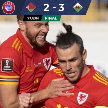 Resumen   Con un espectacular 'hat-trick', Gareth Bale da el triunfo a Gales