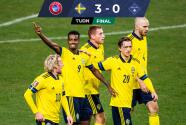 Resumen | Con un gol de antología de Isak, Suecia aplastó a Kosovo