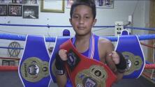 Conoce la historia de Eli Ramírez, un niño en Dallas que se perfila como un gran boxeador con apenas 10 años