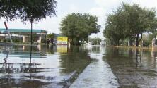 El oeste del condado de Harris, un sector que sigue inundado por el paso de Harvey