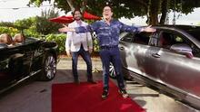 """""""Espectacular"""": Raúl González quedó impresionado con dos lujosos carros de la marca Bentley"""