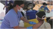 Los esfuerzos para que habitantes del parque Terra Nova sean vacunados contra el coronavirus