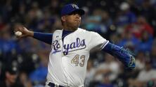 El venezolano Carlos Hernández impresiona con los Royals