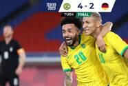 Brasil superó a Alemania, España empató y Argentina perdió en Tokyo