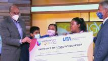 Ella es Yalitza Marlin González, la ganadora de la beca Tu Futuro de Univision Contigo