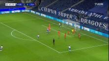 ¡GOL!  anota para FC Porto. Moussa Marega