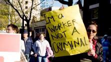 Comunidad inmigrante, protagonista en las marchas del Día Internacional del Trabajo