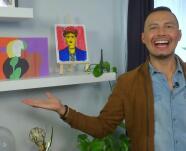 Actividades de arte para niños: Luis Sandoval llegó con muy buenas ideas para aprender mientras juegan