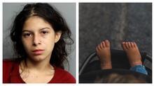 Arrestan a una joven madre acusada de abandonar a su bebé de 5 meses en una panadería de Miami
