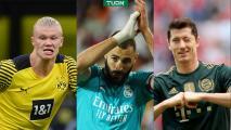 Estos son los máximos goleadores en grandes ligas de Europa