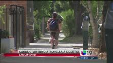 Profesor atropella ciclistas