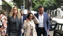 El día que Naasón Joaquín se encontró en la corte con la mujer que lo metió a la cárcel