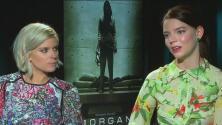 La protagonista de la película de terror 'Morgan' es orgullosamente hispana