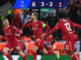 En un vibrante partido, el Liverpool remontó y venció al Milan