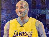 Estudiantes de secundaria de Manor crean mural en honor a Kobe Bryant