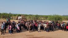 La Patrulla Fronteriza encuentra a más de 140 niños no acompañados en un grupo de migrantes