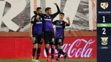 Leganés venció a Rayo Vallecano durante el debut de Diego Reyes