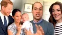 William y Kate podrían hacer una videollamada con Harry y Meghan para celebrar el primer año de Archie