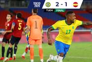 ¡Bicampeón olímpico! Brasil vence a España en Tokyo 2020