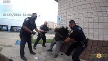 Publican video sobre el arresto de una joven hispana; familia alega que la golpearon