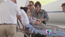 Llegó a Tampa joven accidentada en Cuba