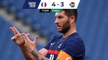 Hat-trick de Gignac en triunfo de Francia ante Sudáfrica