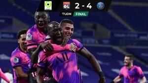 ¡Hay nuevo líder en la Ligue 1! PSG venció a Lyon y domina la tabla