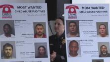 Estos son los 10 abusadores de menores más buscados de Houston
