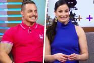 Dayanara Torres y Casper Smart dan una probadita de las sorpresas que habrá en la semifinal de Mira Quién Baila