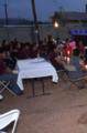 Familiares y amigos María Eliza Sebastián se reunieron este sábado en la vivienda en Phoenix, portando veladoras para despedirla.
