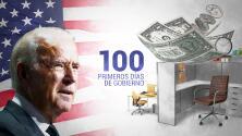 Las promesas de Biden tras 100 días de gobierno: aumentar el salario mínimo a $15